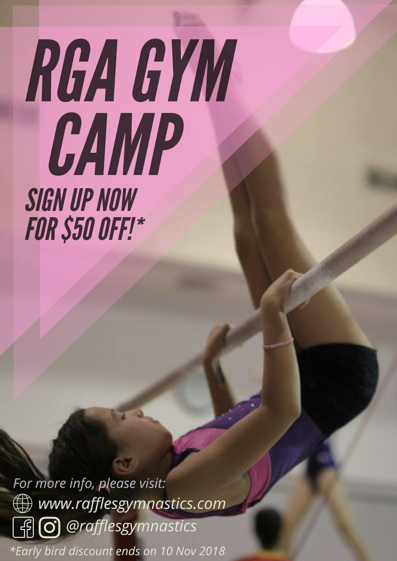 raffles gymnastics holiday camp 2018_1