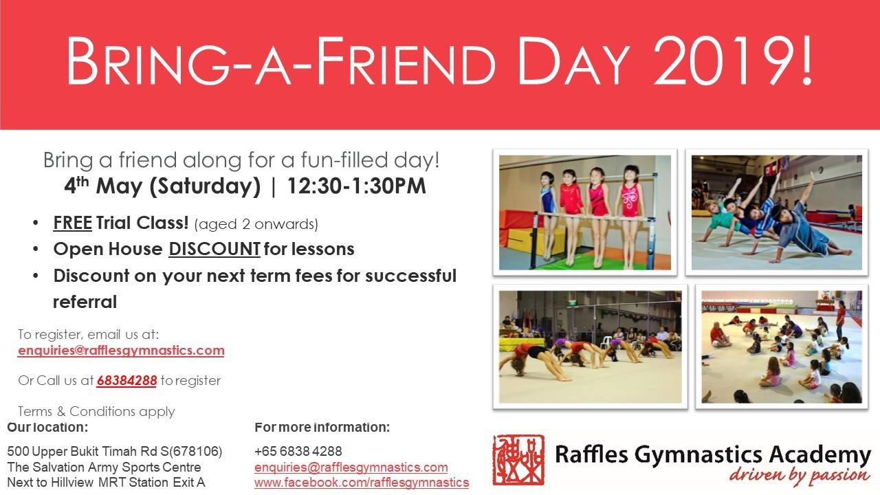 RGA Bring a friend along 2019