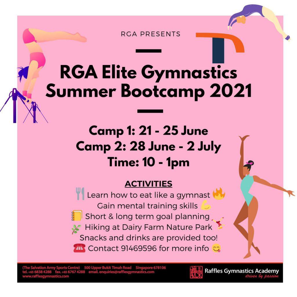 RGA Elite Gymnastics Summer Bootcamp 2021